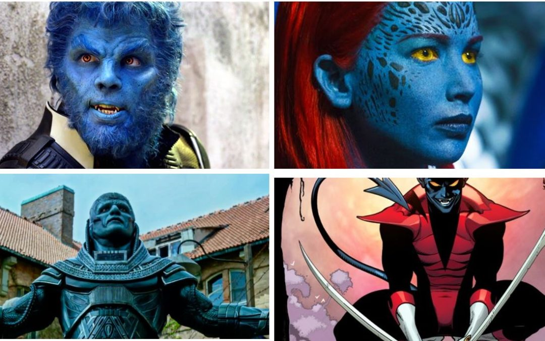 X-Men: Blue Mutants Are Everywhere. Why No Blue Humans?